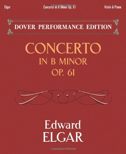 9780486491240: Concerto in B Minor Op. 61: with Separate Violin Part (Dover Chamber Music Scores)