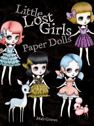 9780486491608: Little Lost Girls Paper Dolls