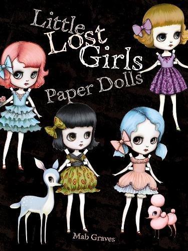 9780486491608: Little Lost Girls Paper Dolls