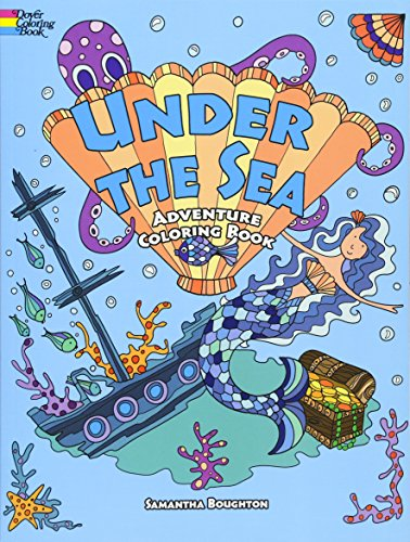 Under the Sea Adventure Coloring Book: Boughton, Samantha