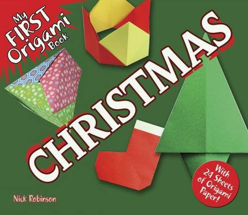 9780486491820: My First Origami Book-Christmas: With 24 Sheets of Origami Paper!