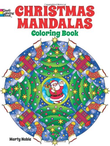 9780486492124: Christmas Mandalas Coloring Book (Dover Design Coloring Books)