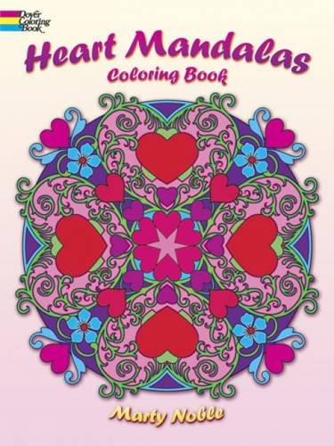 9780486492193: Heart Mandalas Coloring Book (Dover Coloring Books)