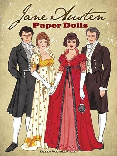 9780486492223: Jane Austen Paper Dolls: Four Classic Characters