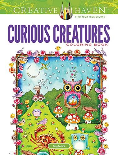 9780486492698: Creative Haven Curious Creatures