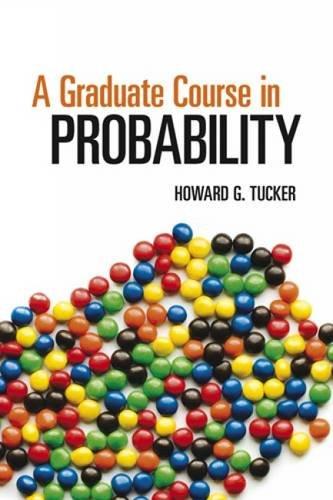 9780486493039: A Graduate Course in Probability (Dover Books on Mathematics)