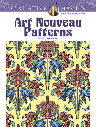 9780486493114: Creative Haven Art Nouveau Patterns Coloring Book (Creative Haven Coloring Books)