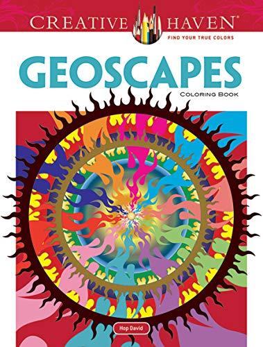 9780486493145: Creative Haven Geoscapes Coloring Book (Creative Haven Coloring Books)
