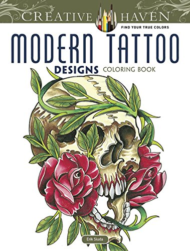 9780486493268: Creative Haven Modern Tattoo Designs Coloring Book (Creative Haven Coloring Books)