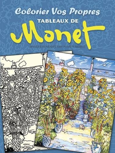 9780486493282: Colorier vos Propres Tableaux de Monet (Dover Children's Bilingual Coloring Book)