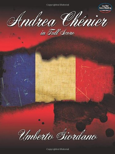 9780486493893: Andrea Chenier in Full Score (Dover Opera and Choral Scores)