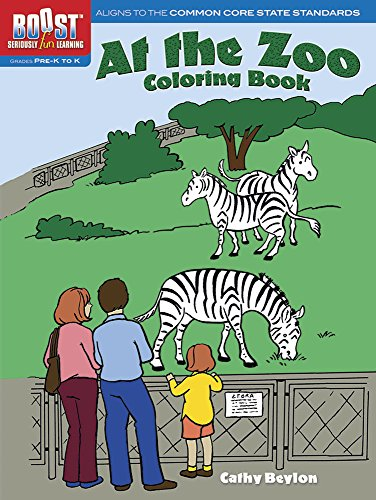 Boost at the Zoo Coloring Book: Beylon, Cathy