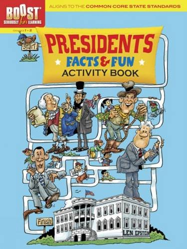 9780486494098: BOOST Presidents Facts and Fun: Activity Book (BOOST Educational Series)