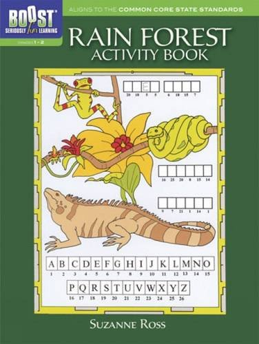 9780486494135: BOOST Rain Forest Activity Book (BOOST Educational Series)