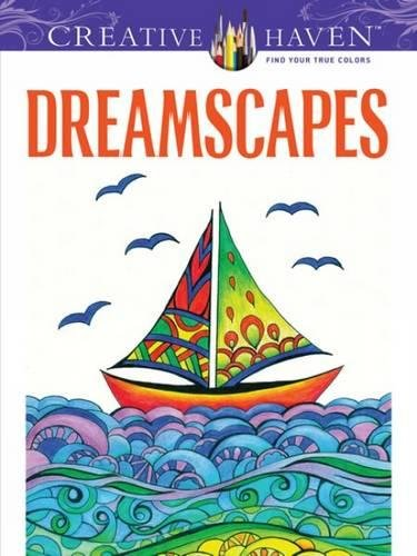 9780486494227: Creative Haven Dreamscapes Coloring Book (Adult Coloring)