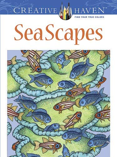 9780486494234: Creative Haven SeaScapes Coloring Book (Creative Haven Coloring Books)