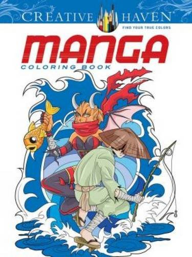 Manga (Creative Haven Coloring Books)