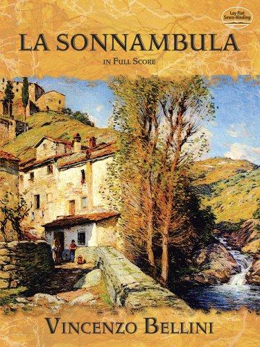 9780486494487: La Sonnambula in Full Score (Dover Music Scores)