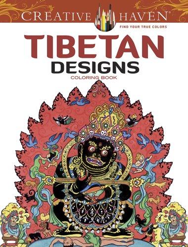 9780486494494: Tibetan Designs Coloring Book