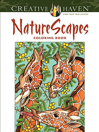 Creative Haven NatureScapes Coloring Book (Adult Coloring): Patricia J. Wynne,