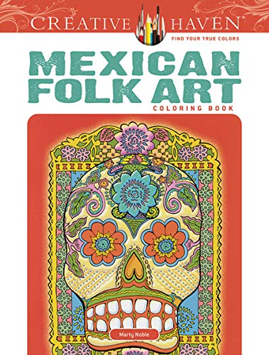 9780486494517: Mexican Folk Art Coloring Book