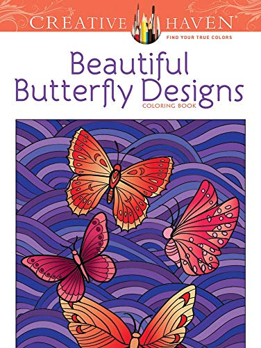 9780486494562: Creative Haven Beautiful Butterfly Designs Coloring Book (Creative Haven Coloring Books)
