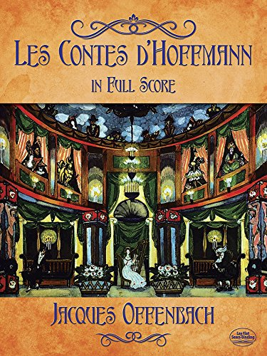 Les Contes D'Hoffmann in Full Score (Paperback): Jacques Offenbach