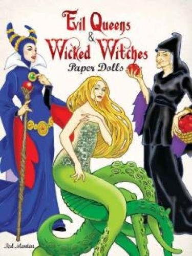 9780486494975: Evil Queens and Wicked Witches Paper Dolls