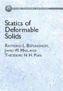 Statics of Deformable Solids (Dover Phoenix Editions) (Dover Phoneix Editions): Bisplinghoff, ...