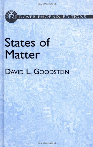 9780486495064: States of Matter (Dover Phoenix Editions) (Dover Books on Physics)