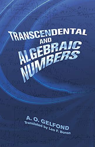 9780486495262: Transcendental and Algebraic Numbers (Dover Books on Mathematics)