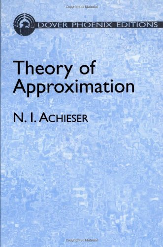9780486495439: Theory of Approximation