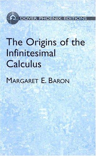 9780486495446: The Origins of the Infinitesimal Calculus (Dover Phoenix Editions)