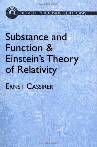9780486495477: Substance and Function & Einstein's Theory of Relativity (Dover Books on Mathematics)