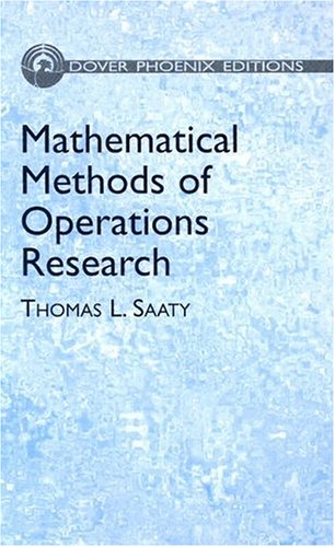 9780486495699: Mathematical Methods of Operations Research (Dover Phoenix Editions)