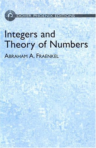 9780486495880: Integers and Theory of Numbers