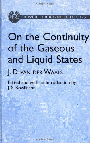 9780486495934: On the Continuity of the Gaseous and Liquid States (Dover Books on Physics)