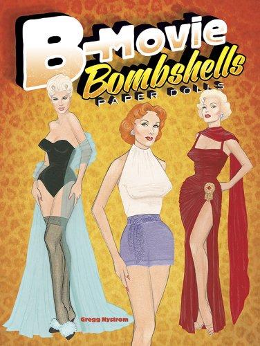 9780486496283: B-Movie Bombshells Paper Dolls