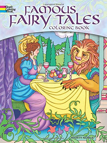 9780486497075: Famous Fairy Tales Coloring Book (Dover Coloring Books)