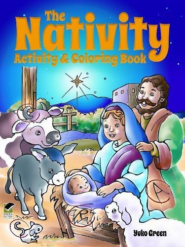 9780486497174: The Nativity Activity and Coloring Book (Dover Holiday Coloring Book)
