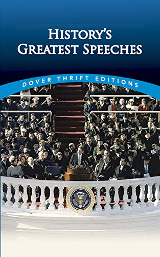 9780486497396: History's Greatest Speeches (Dover Thrift Editions)