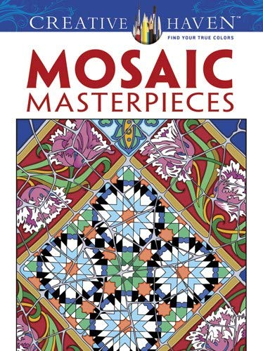 9780486497488: Mosaic Masterpieces (Dover Design Coloring Books)