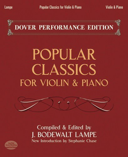9780486497532: Popular Classics for Violin and Piano (Dover Chamber Music Scores)