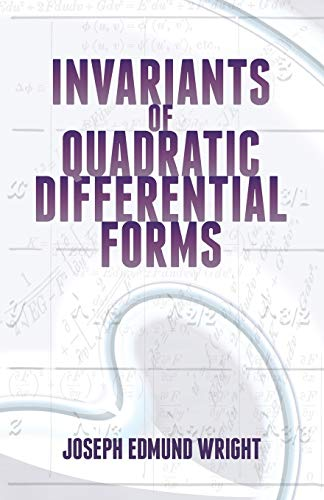 9780486497686: Invariants of Quadratic Differential Forms (Dover Books on Mathematics)