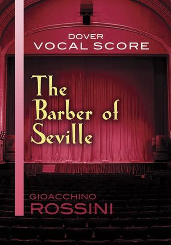 9780486498034: The Barber of Seville Vocal Score (Dover Vocal Scores)