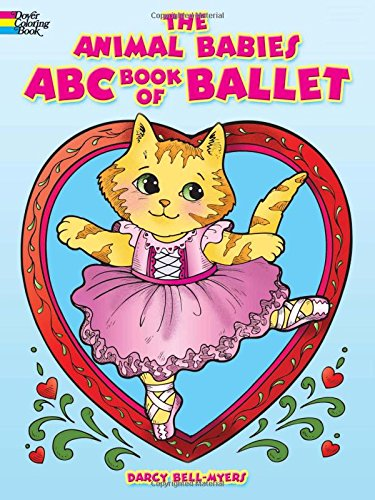9780486498140: The Animal Babies ABC Book of Ballet (Dover Coloring Books)