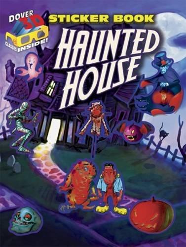 9780486498232: 3-D Sticker Book--Haunted House (Dover Sticker Books)