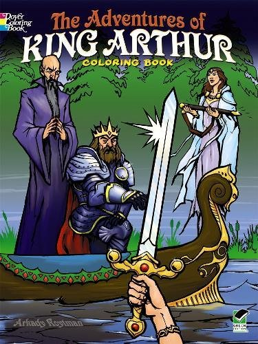 9780486498294: The Adventures of King Arthur Coloring Book (Dover Coloring Books for Children)