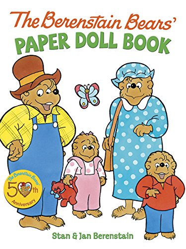 9780486498355: The Berenstain Bears' Paper Doll Book (Dover Paper Dolls)