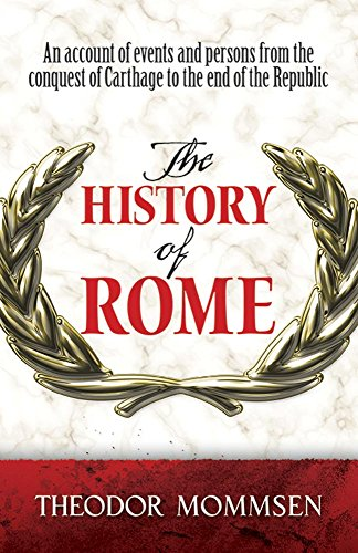9780486498447: The History of Rome (Dover Books on History, Political and Social Science)